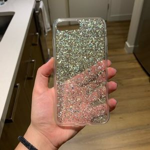 Holographic Sparkle iPhone 7/8 plus phone case